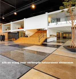 Natuursteen showroom